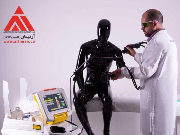 استفاده از لیزر هیرو برای درمان درد شانه