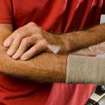 درد آرنج تنیس بازان