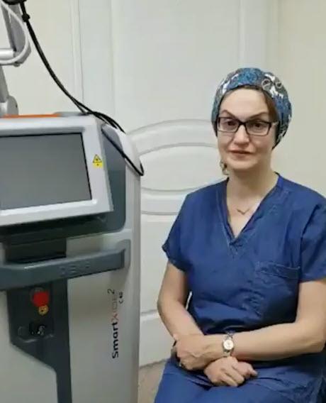 تجربه خانم دکتر کاترین پزشکی از لیزر مونالیزاتاچ