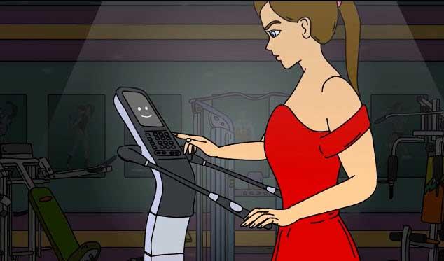 انیمیشن کوتاه از دستگاه آنالیز بدن